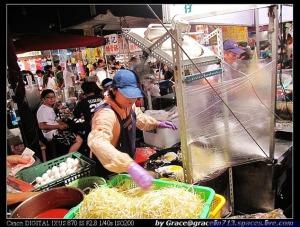 台南花園夜市-四草蚵仔煎 (5)